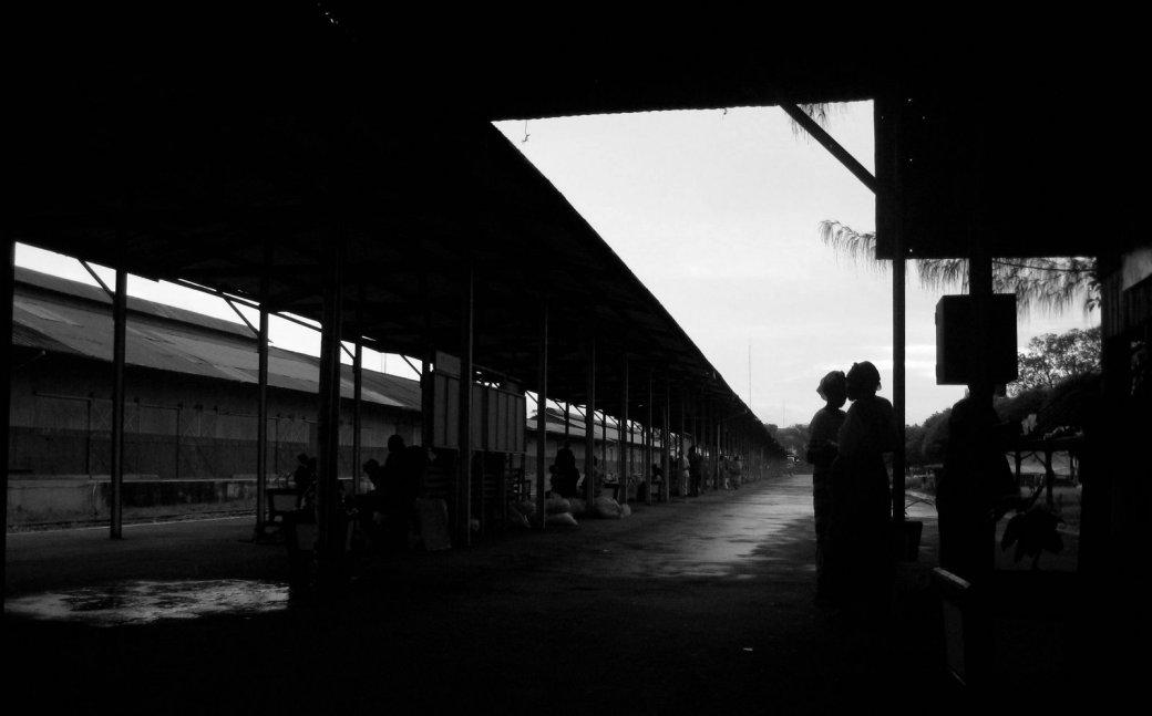 Mombasa station.