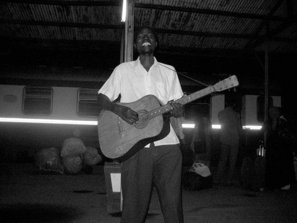 Troubadour, Mombasa train station.